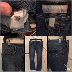 Banana Republic Size 28/6 Long Bootcut Jean